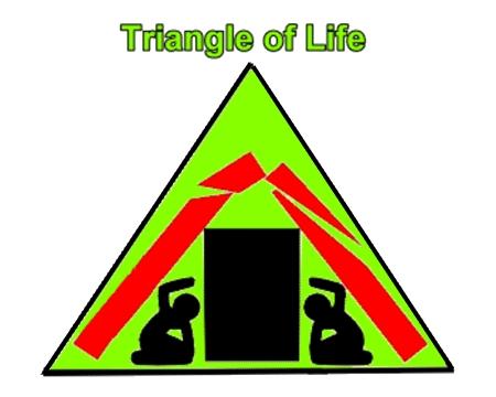 [分享] 重要! 地震來時,躲在「生命三角」內存活機會最大!