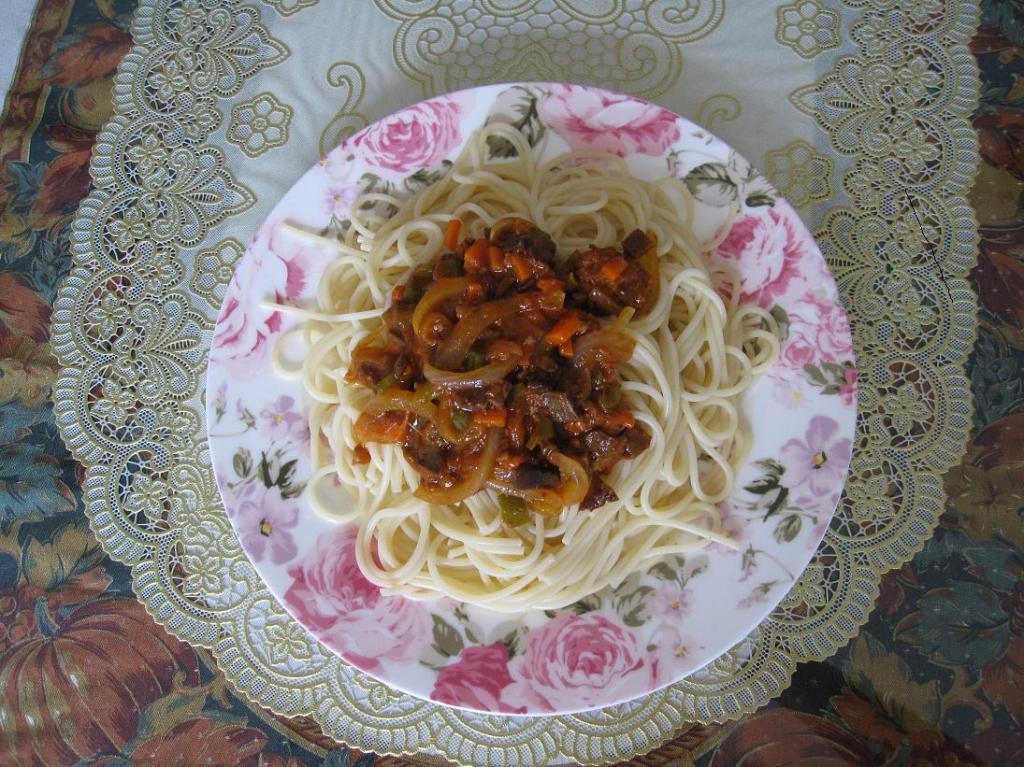 美味的意大利面条